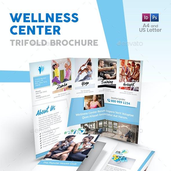 Wellness Center Trifold Brochure 2