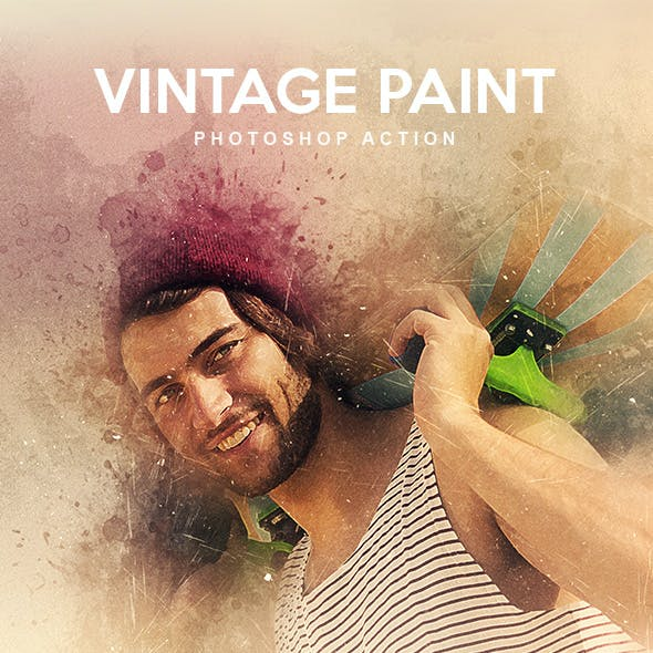 Vintage Paint - Photoshop Action