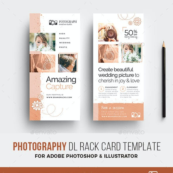 Photography DL Rack Card