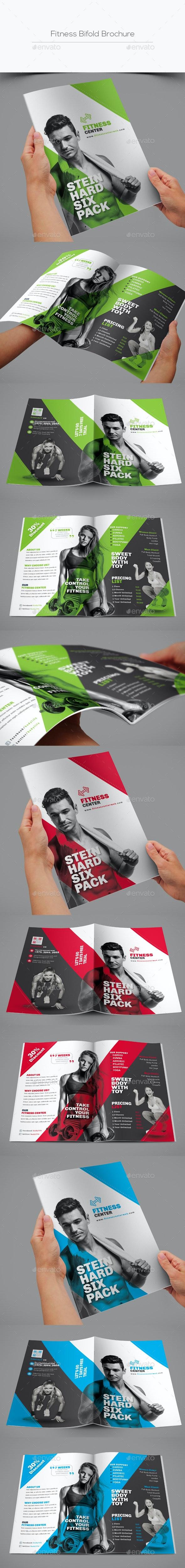 Fitness Bifold Brochure - Corporate Brochures