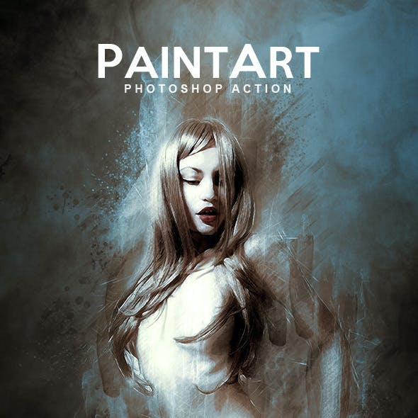 PaintArt - Photoshop Action