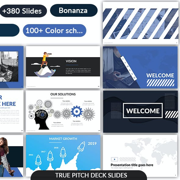 Pitch Deck Google Slides Template - May 2019