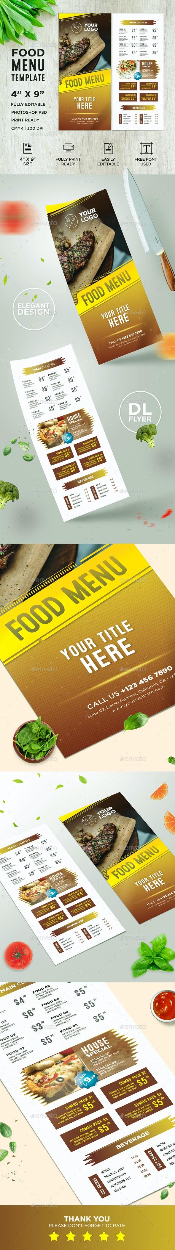 Restaurant DL Flyer - Restaurant Flyers