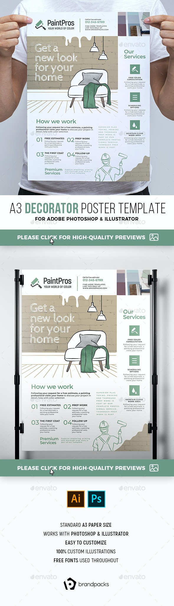 Decorator Poster/Banner - Commerce Flyers