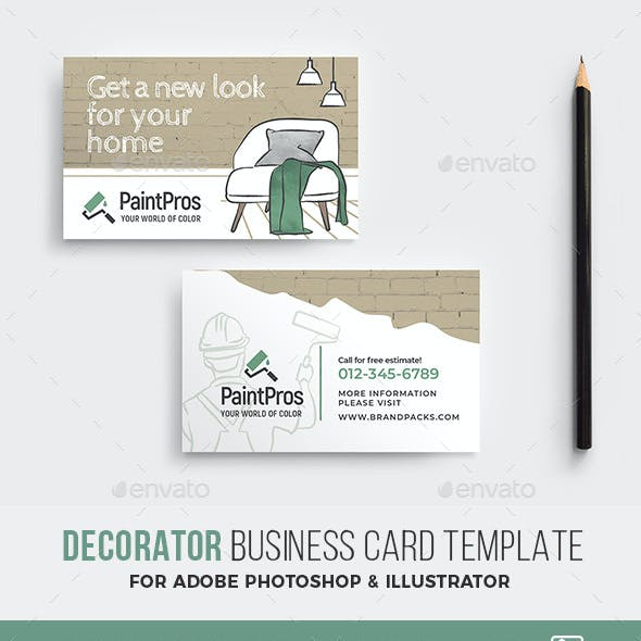 Decorator Business Card