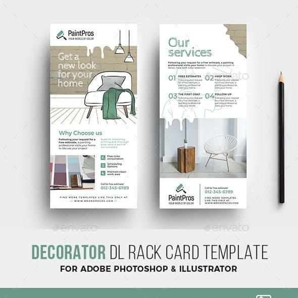 Decorator DL Rack Card