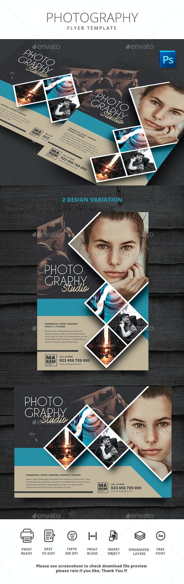 Photography - Flyers Print Templates