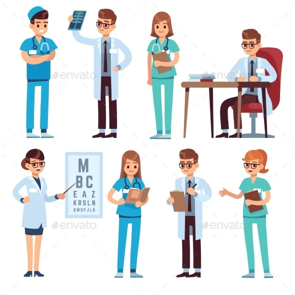 Doctors Team - Health/Medicine Conceptual