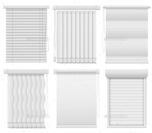 Window Blinds - Man-made Objects Objects