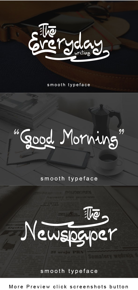 The Everyday - Handwriting Fonts