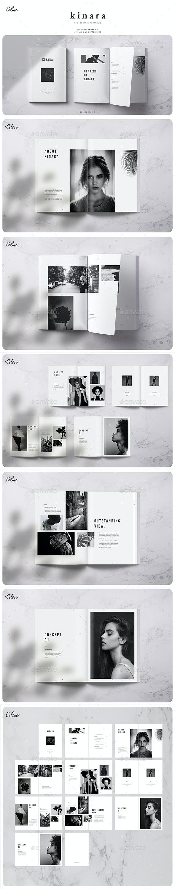 Kinara - Photography Lookbook - Magazines Print Templates