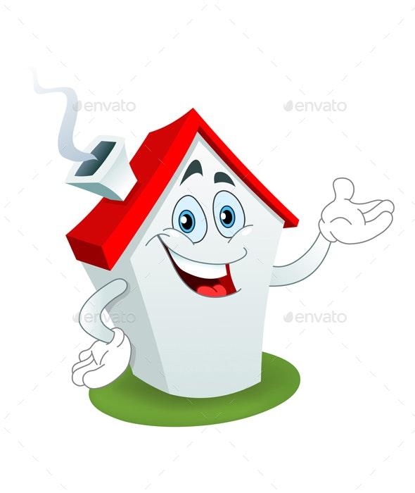 Cartoon House - Buildings Objects