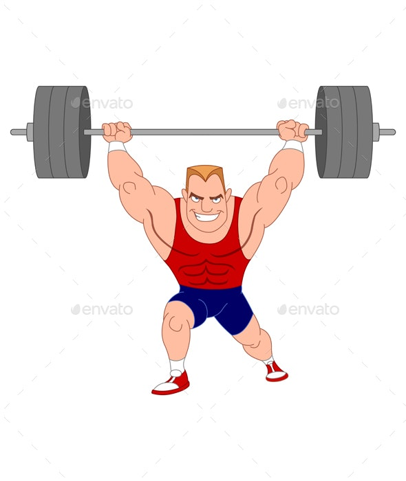 Weightlifter - Sports/Activity Conceptual