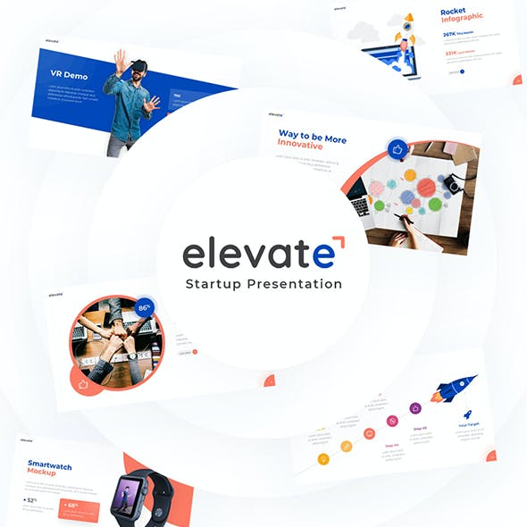 Elevate - Creative Startup PowerPoint Template