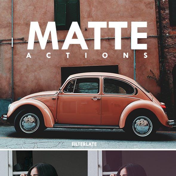 Matte Actions