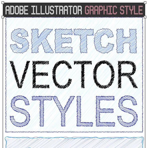 Sketch Vector Text Styles