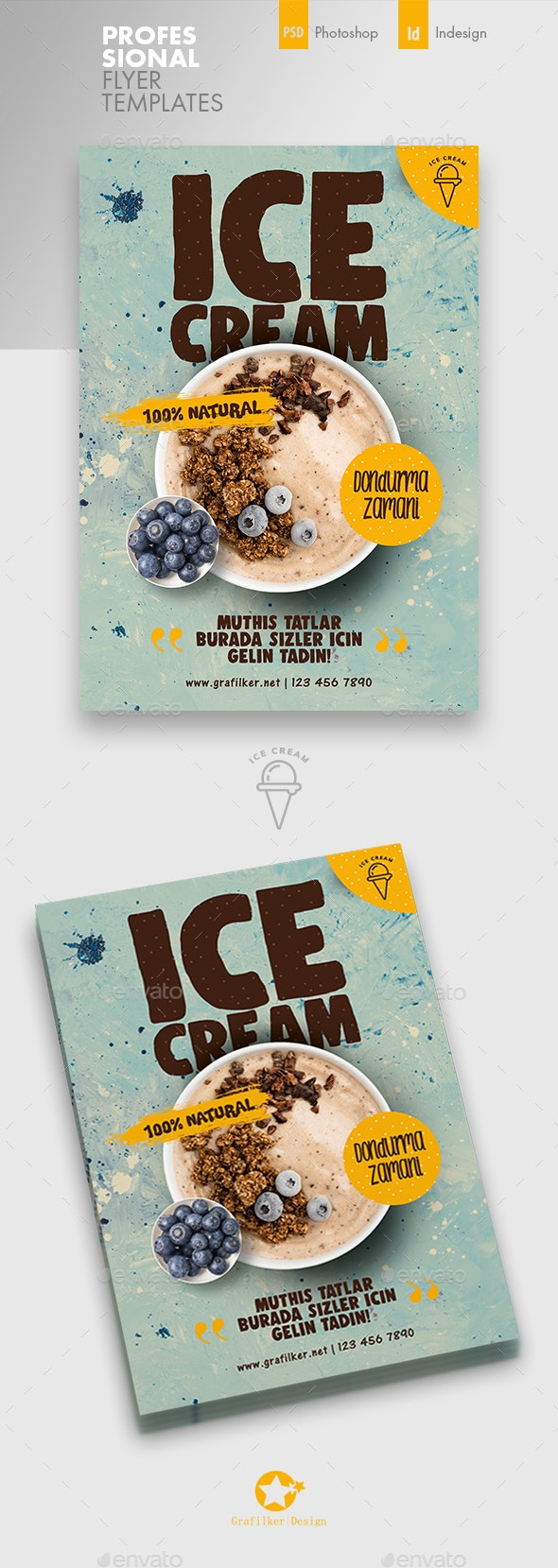 Ice Cream Flyer Templates - Corporate Flyers
