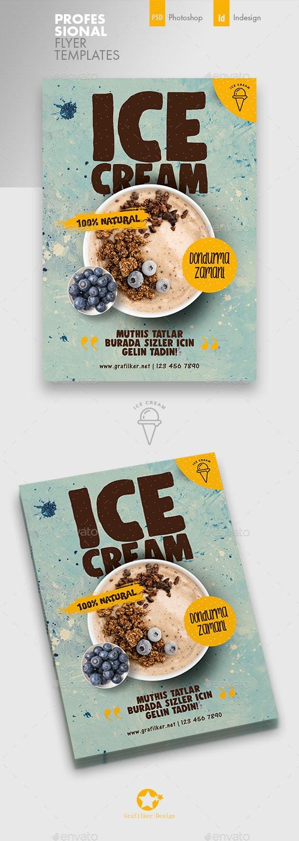 Ice Cream Flyer Templates - Corporate Flyers