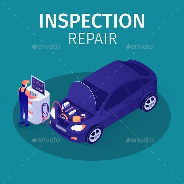 Professional Inspection Repair in Autoservice - Services Commercial / Shopping