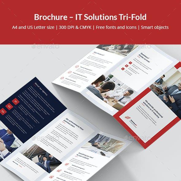 Brochure – IT Solutions Tri-Fold