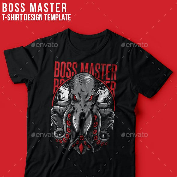 Boss Master T-Shirt Design