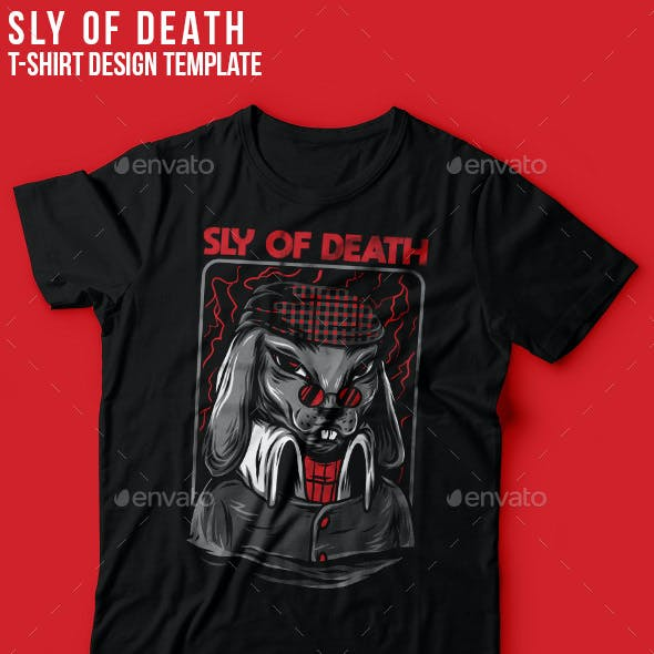 Sly of Death  T-Shirt Design