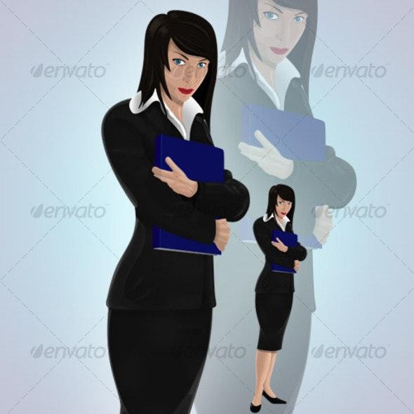 Miss Lady - People Illustrations