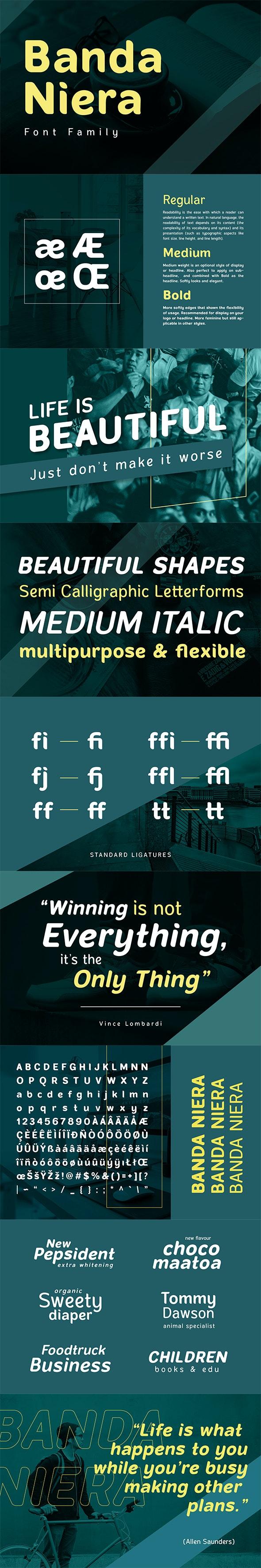 Banda Niera - Miscellaneous Sans-Serif