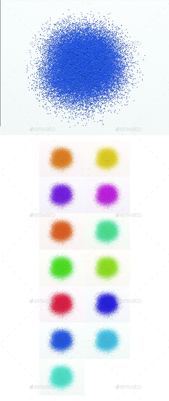Glitter Background - 13 Colours - for Web Use - 3D Backgrounds