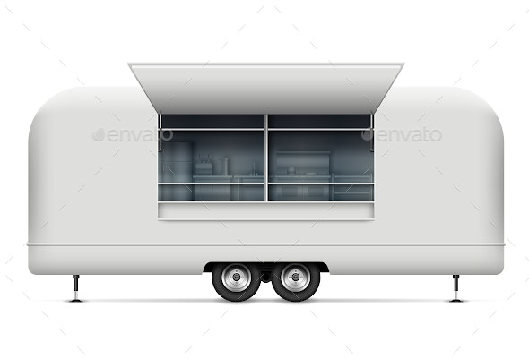 Food Truck - Man-made Objects Objects