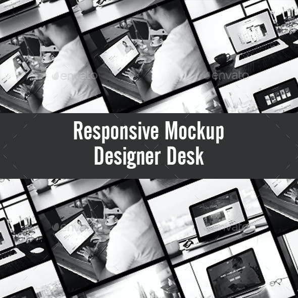 Responsive Mockup Scene Creator