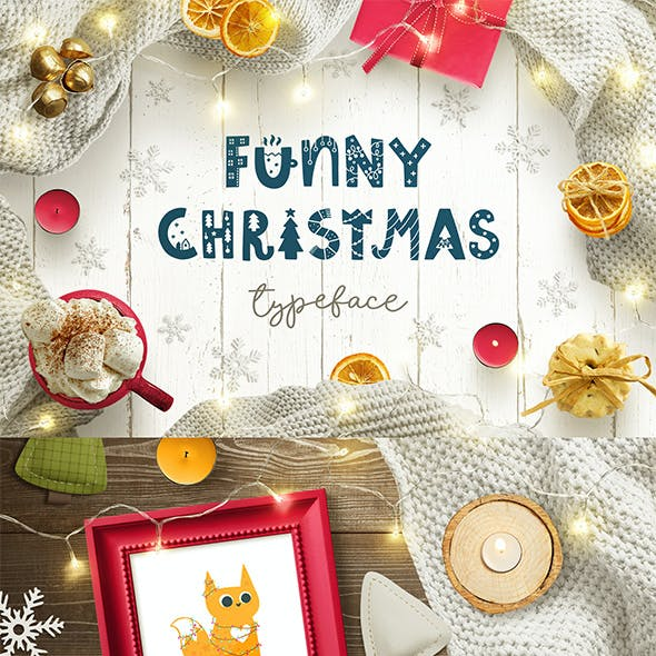 Funny Christmas Typeface