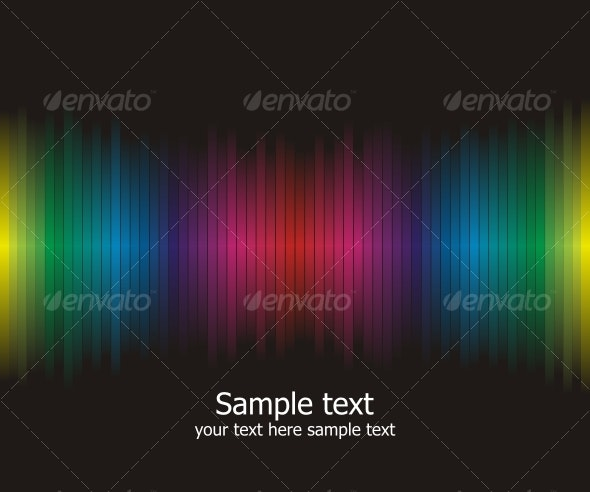 Abstract rainbow colours background  - Backgrounds Decorative