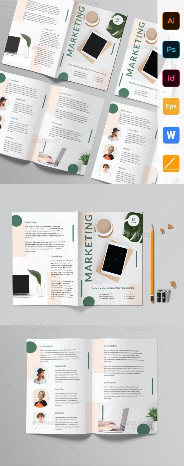 Marketing Agency Bifold Brochure - Corporate Brochures
