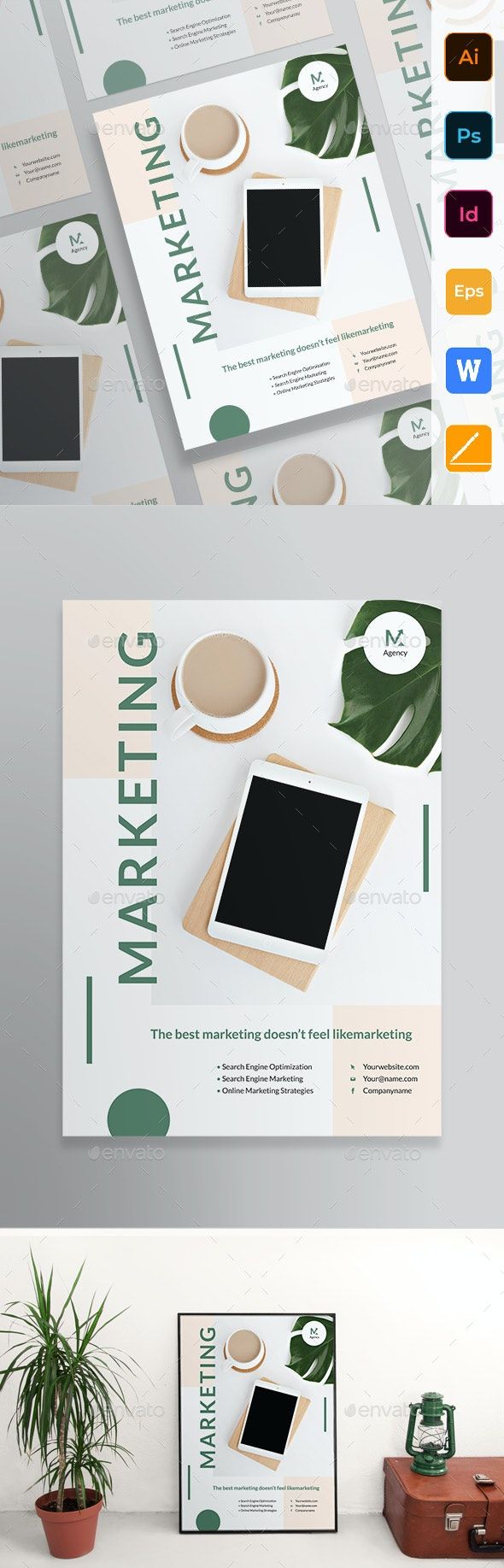 Marketing Agency Poster - Corporate Flyers