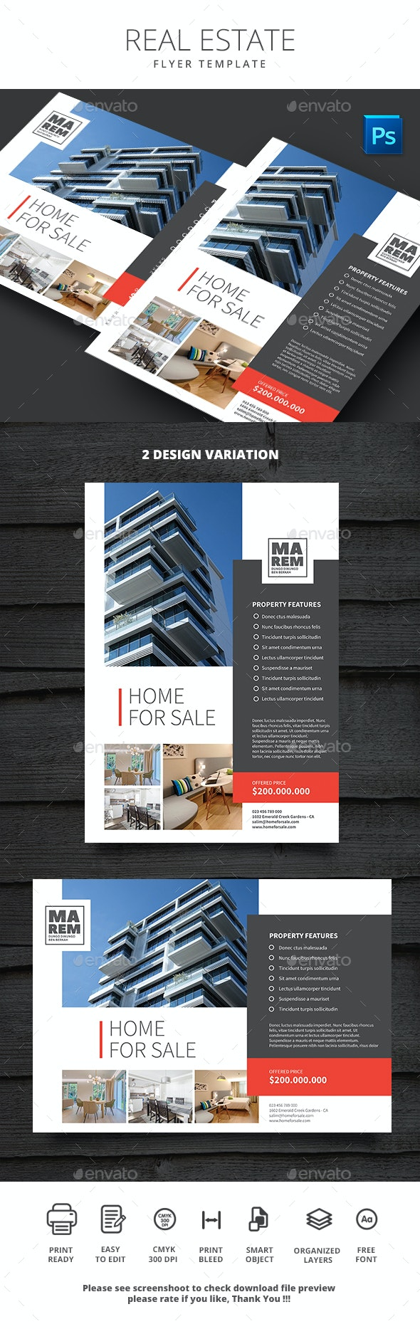 Real Estate - Commerce Flyers