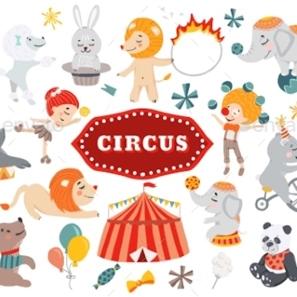 Vector Illustration Circus