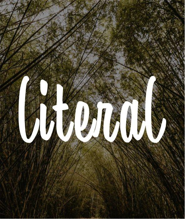 literal - Fonts