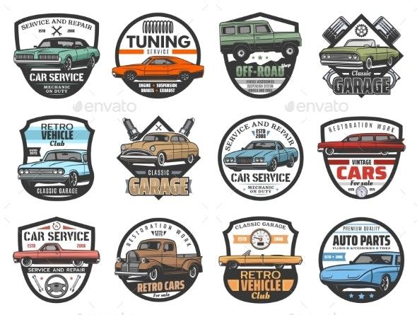 Car Repair Service Vintage Automobile Club - Industries Business