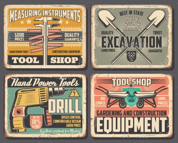 Home Repair and Construction Work Tools Shop - Industries Business