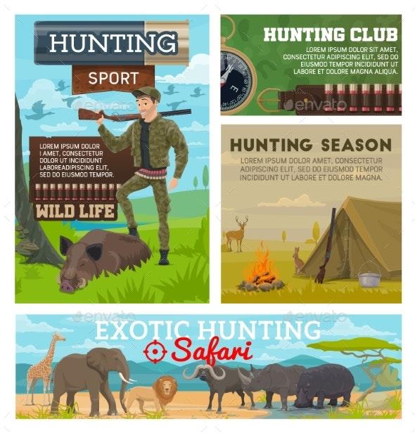 Hunting Season - Sports/Activity Conceptual