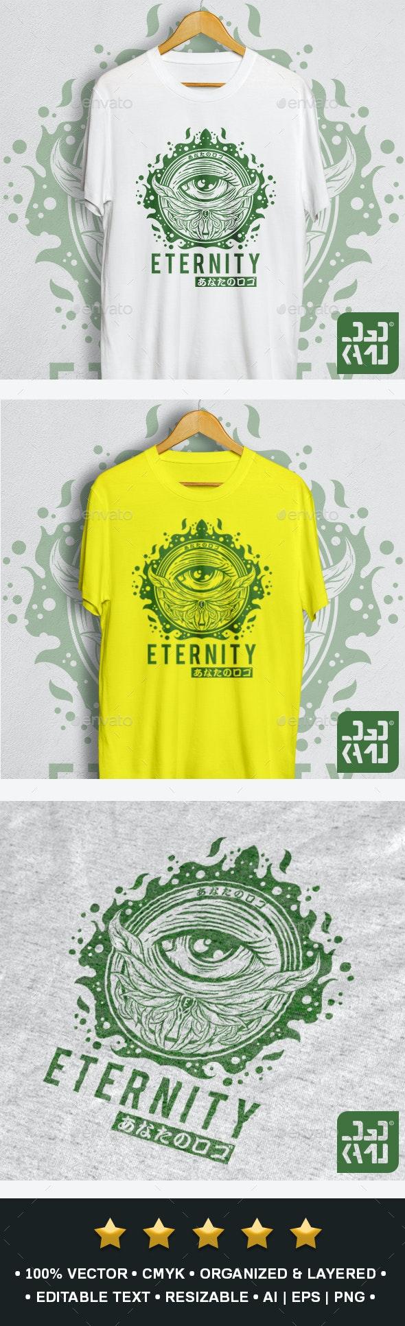 Eternity T-Shirt Design - Grunge Designs