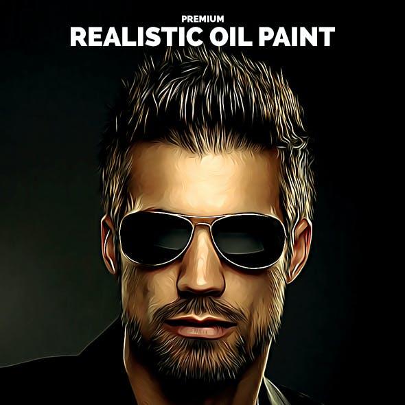 Premium Realistic Oil Paint