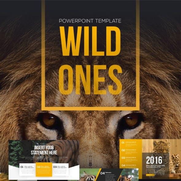 Wildones Nature & Wildlife PowerPoint Template