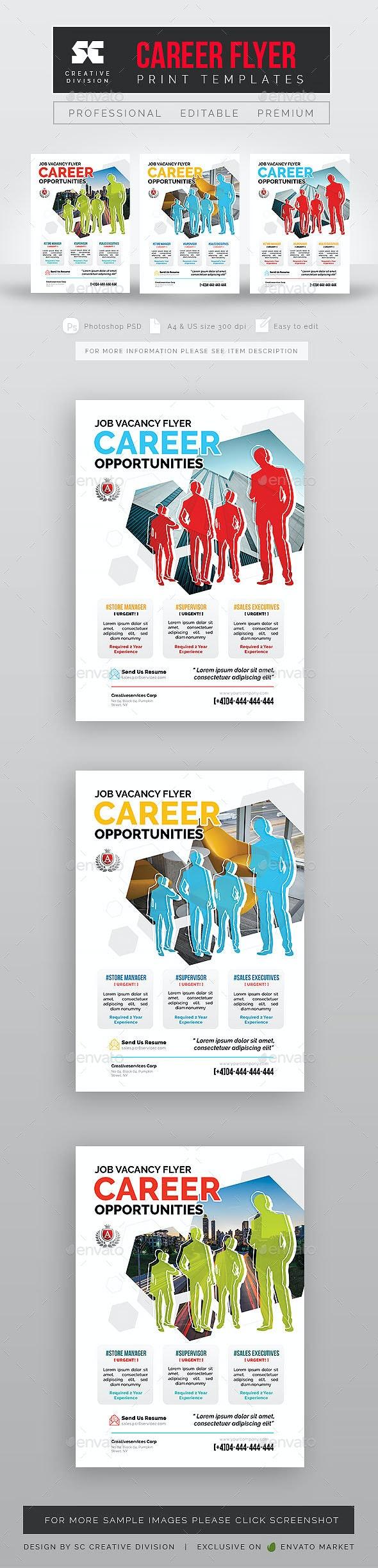 Career Vacancy Flyer - Corporate Flyers