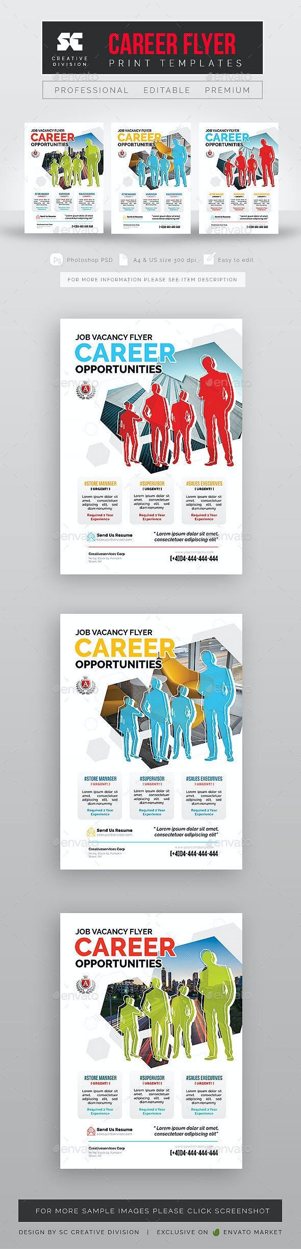 Career Vacancy Flyer - Corporate Flyers