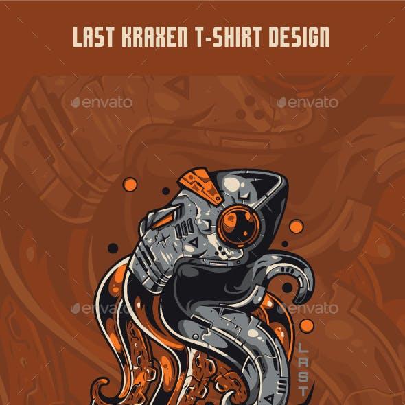 Last Kraxen T-Shirt Design