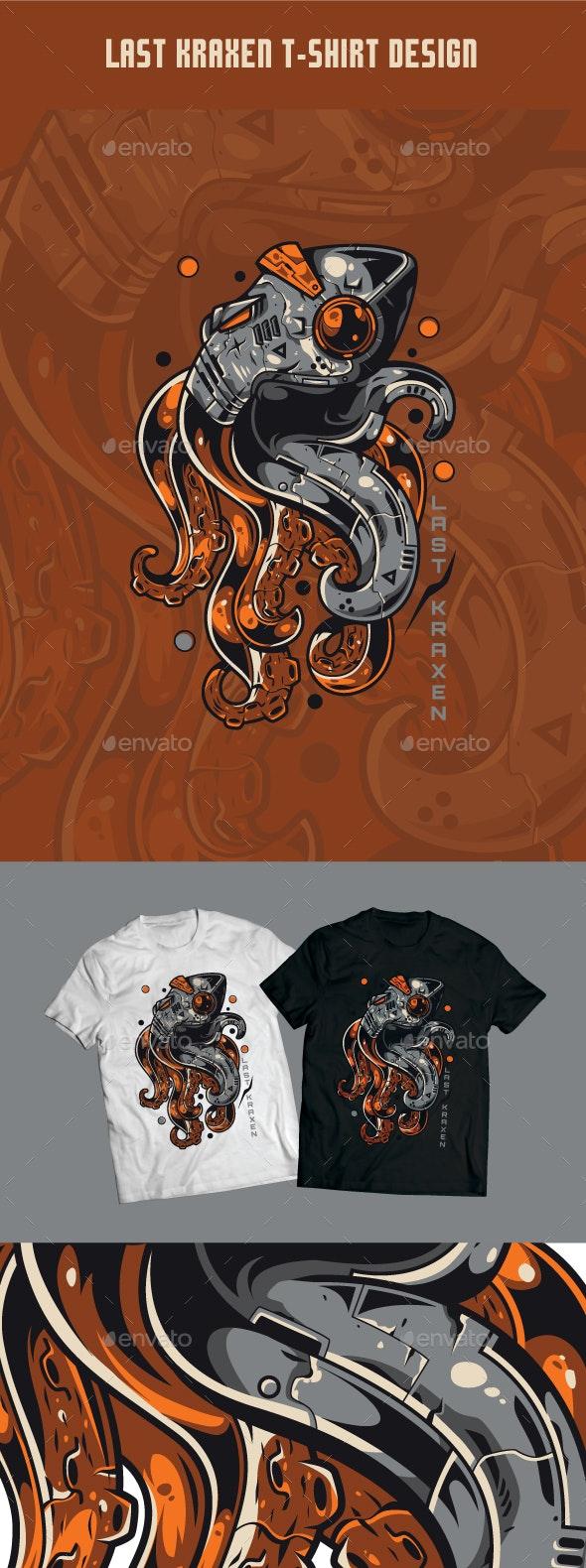 Last Kraxen T-Shirt Design - T-Shirts