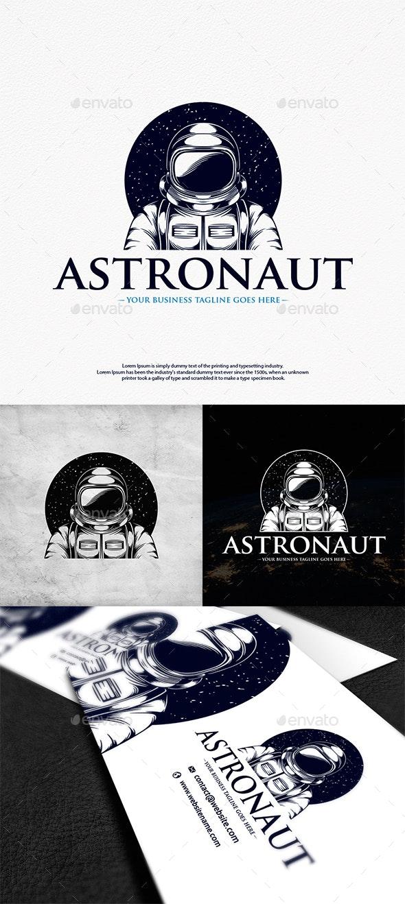 Human Astronaut Logo Template - Humans Logo Templates