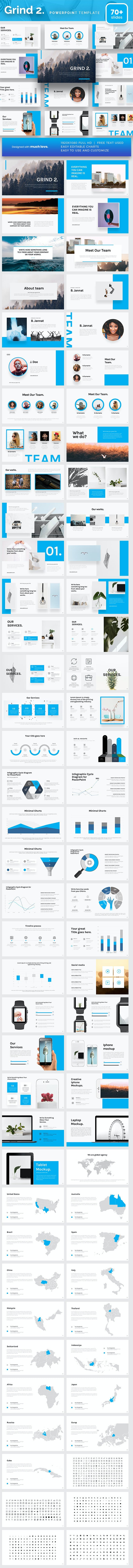 Grind 2 Powerpoint Presentation Template - PowerPoint Templates Presentation Templates